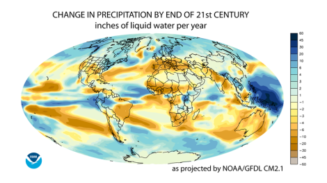 Projected_change_in_annual_average_precipitation_for_the_21st_century,_based_on_the_SRES_A1B_emissions_scenario,_and_simulated_by_the_GFDL_CM2.1_model